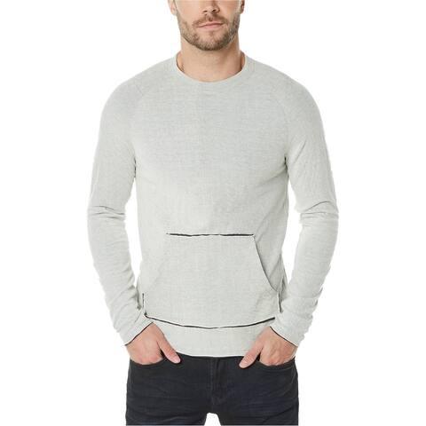 Buffalo David Bitton Mens Focell Sweatshirt, White, XX-Large