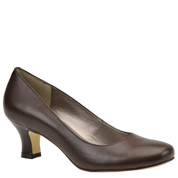 ARRAY Womens Flatter Tris Leather Round Toe Classic Pumps