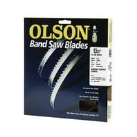 "Olson Saw 08593 Hard Edge Flex Back Band Saw Blade, 14 TPI, 93-1/2"""