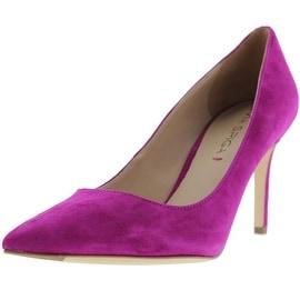 Via Spiga Womens Carola Suede Slip On Pointed Toe Heels