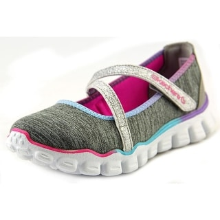 Skechers Skech Flex II-Lil Roller Round Toe Canvas Loafer