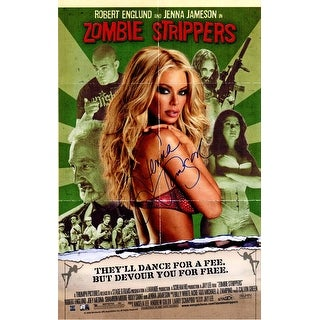 Jenna Jameson Signed Zombie Strippers 11x17 Mini Movie Poster