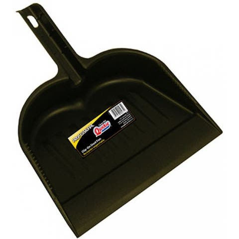 Quickie 475RM-9 Modern Line Heavy Duty Dustpan, Extra Wide Mouth, Large