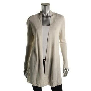 Eileen Fisher Womens Cardigan Top Straight Long