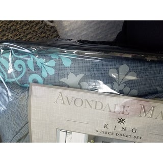 Avondale Manor Amber 5-piece Duvet Cover Set