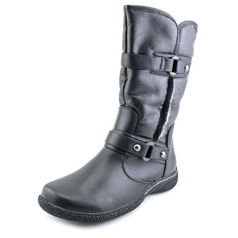 "Wanderlust Womens Gabi 10"" Closed Toe Mid-Calf Cold Weather Boots - 6"