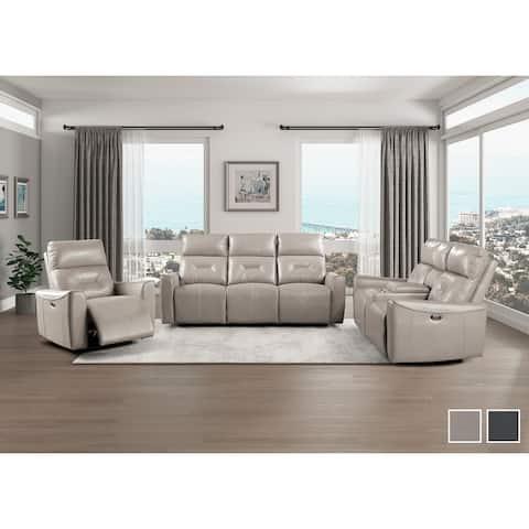 Rheit 3-Piece Power Reclining Living Room Set