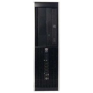 HP 6005 Pro Desktop Computer SFF AMD Phenom II x3 B73 2.8G 4GB DDR3 250G Windows 10 Pro 1 Year Warranty (Refurbished) - Black