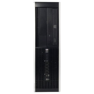 HP 8000 Elite Desktop Computer SFF Intel Core 2 Duo E8400 3.0G 8GB DDR3 320G Windows 7 Pro 1 Year Warranty (Refurbished) - Black