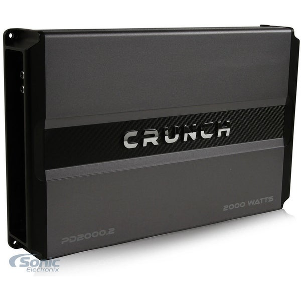 Crunch Power Drive PD3000.2 Bridgeable Amplifier (Pro Power, 3,000 Watts Max, Class Ab 2-Channel)