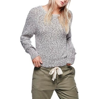 Free People Womens Casual Top Knit Long Sleeve