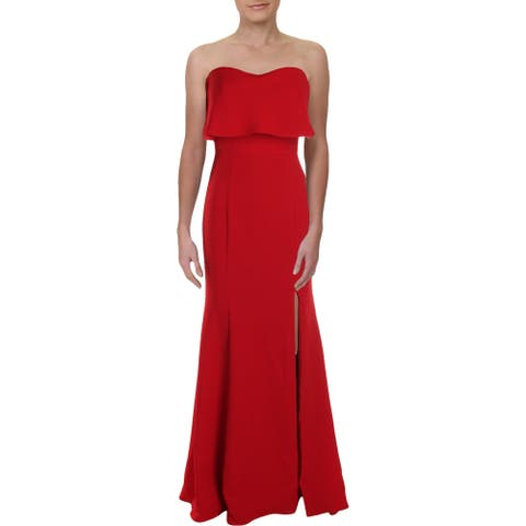 Xscape Womens Evening Dress Strapless A-Line