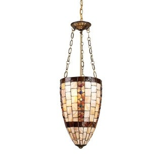 Landmark Lighting 63000-3 Contemporary / Modern Three Light Down Lighting Foyer Pendant from the Hastings Collection
