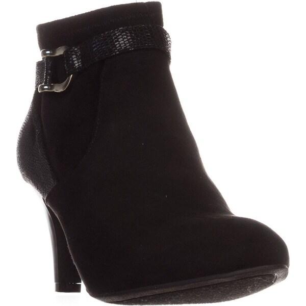 KS35 Maxinee Ankle Booties, Black