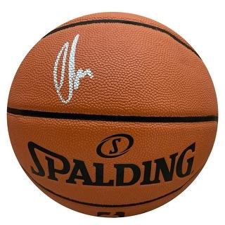 Luka Doncic Dallas Mavericks Autographed NBA Signed Basketball PSA DNA COA 2