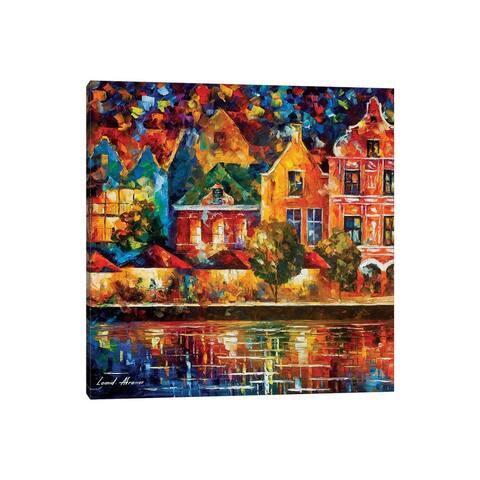 "iCanvas ""Amsterdam Of My Dreams"" by Leonid Afremov Canvas Print"