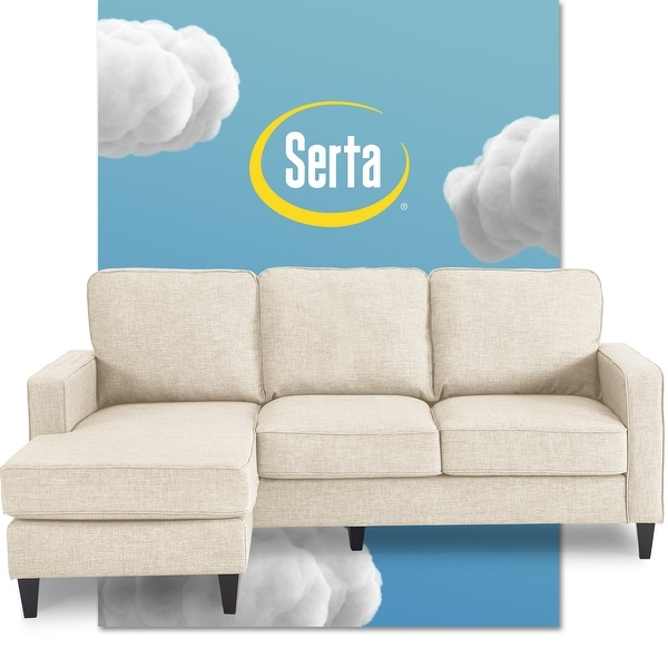 Serta Harmon 80-inch Reversible Sectional Sofa. Opens flyout.