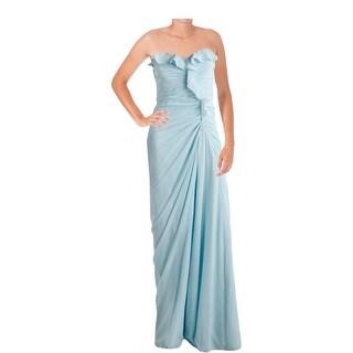 Badgley Mischka Womens Silk Prom Formal Dress