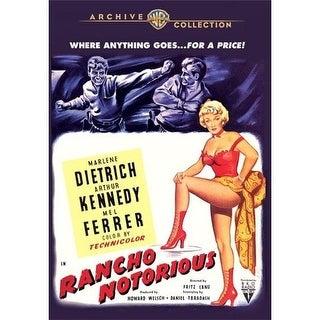 Rancho Notorious DVD Movie 1952