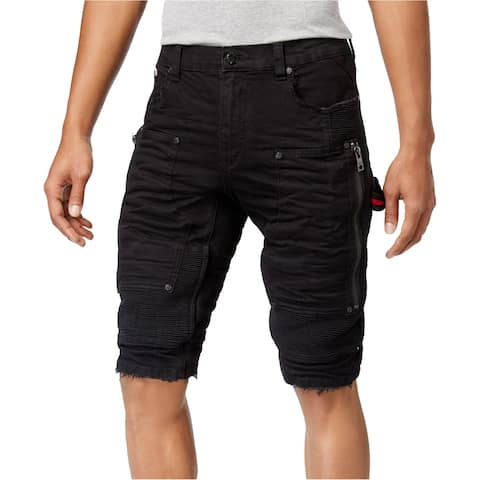 Heritage Mens Denim Moto Casual Cargo Shorts - 40