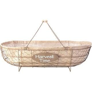 Chicken Wire Basket Planter