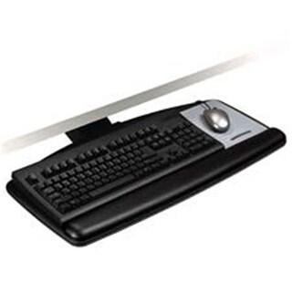 3M Keyboard Tray- Height-Tilt Indicators- 25-.50in.x12in.- Black