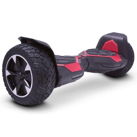 MotoTec Hoverboard Ninja 36v 8.5inch Red (Bluetooth)