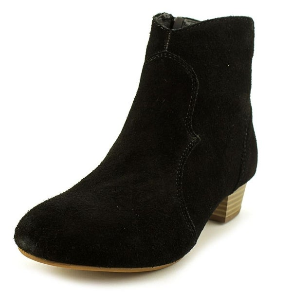 be72610317a Shop Steve Madden J Hipster Youth Round Toe Synthetic Black Ankle ...
