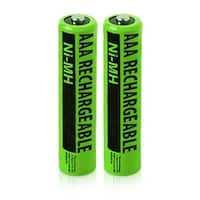 Replacement Panasonic HHR-55AAABU NiMH Cordless Phone Battery - 630mAh / 1.2v (2 Pack)