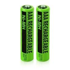 Replacement Panasonic KX-TGA641 NiMH Cordless Phone Battery - 630mAh / 1.2v (2 Pack)