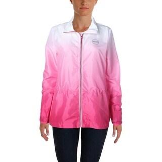 Lauren Ralph Lauren Womens Adjustable Waist Ombre Jacket