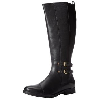 Bronx Womens Loop Hole Riding Boots Leather Knee-High - 37 medium (b,m)