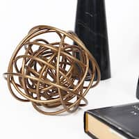 FloralGoods Gold Metal Decorative Ball