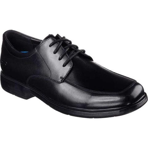 Skechers Men's Relaxed Fit Caswell Oxford Black