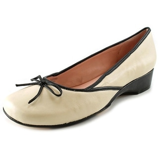 Taryn Rose Karumba Women Round Toe Leather Flats