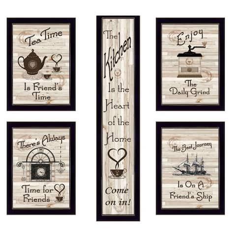 """""""Kitchen Friendship Collection"""" 5-Piece Vignette by Millwork Engineering"""