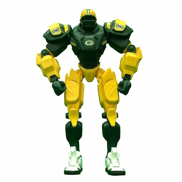 "NFL Green Bay Packers 10"" Cleatus Fox Robot Action Figure - multi"
