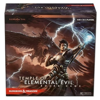 Dungeons & Dragons Temple of Elemental Evil Board Game - multi