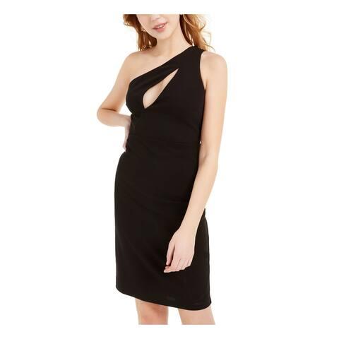 BEBE Black Sleeveless Short Dress XXS