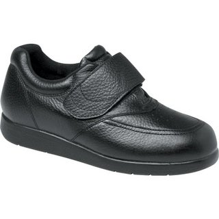 Drew Men's Navigator II Black Pebbled Leather