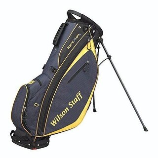 Wilson Staff Ionix Light Golf Carry Bag (Charcoal/Yellow)