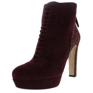 Miu Miu Womens Ankle Boots Suede Glitter - 11
