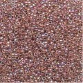 Toho Round Seed Beads 15/0 784 - AB Crystal / Sandstone Lined (8 Grams) - Thumbnail 0