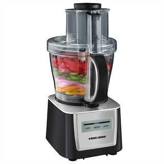 Refurbished Black and Decker 12 cup Food Processor