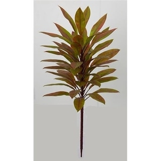 Autograph Foliages A-174750 60 in. Polyblend Cordyline by 12 Green & Red