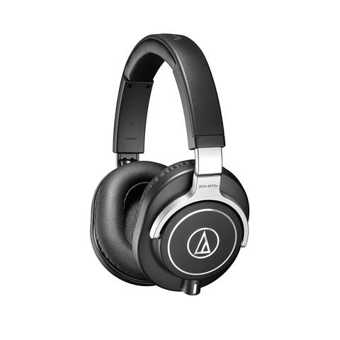 Audio-Technica Closed-Back Dynamic Professional Studio Monitor Headphones