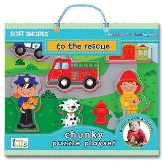 To The Rescue 8 Piece Foam Puzzle