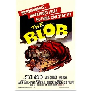 Poster Print entitled The Blob (1958) - multi-color