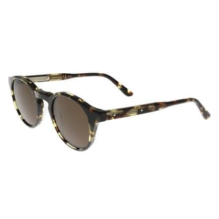 Bottega Veneta BV0023/S 005 Havana-Brown Round Sunglasses