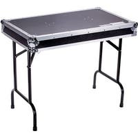 Fly Drive Case Universal Fold Out DJ Table 36-Width x 21-Depth x 30-Inches Height